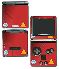 Amazon Com Pokedex Special Edition Video Game Vinyl Decal Skin Sticker Cover For Nintendo Gba Sp Gameboy Advance System Beauty
