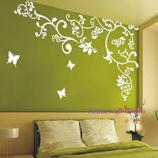 Cherry Blossomsvinyl Wall Decal Sticker Nature By Annaandnana 86 00 I Like What This Does For The Wall Wall Design Nursery Wall Decals Nursery Wall Stickers