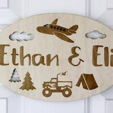 Kids Room Sign Etsy