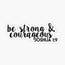 Joshua 1 9 Stickers Redbubble