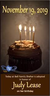Happy Birthday Adopt A Day Bell Socialization