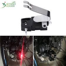 Đèn LED gắn đuôi dây phanh xe đạp tạo tín hiệu dừng/chạy thiết kế sáng tạo  độc đáo