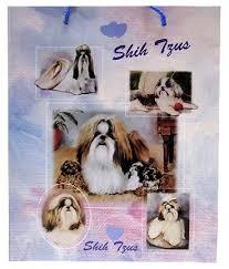 raining cats and dogs shih tzu gift bag