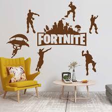 Fortnite Wall Sticker Art Vinyl Decal Art Decor Boy Room Wall Decals Wish