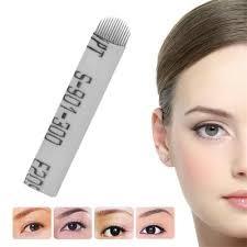 100pcs sterilized disposable eyebrow