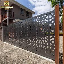 2019 Hot Selling Customized Cheap Sheet Metal Fence Panels For Garden Buy Metal Fence Fence Panels Me Balustrade Design Outdoor Metal Wall Art Exterior Doors
