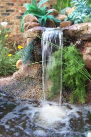 Water Garden Waterfall Design Ideas