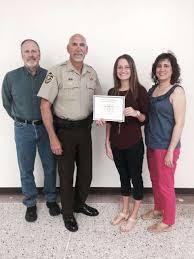 Abby Brown Wins Sheriff's Association Scholarship - Effingham's ...