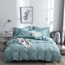 cute printing bedding set pink