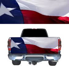 Texas Flag Tailgate Graphic Decal Pickup Truck Car Rear Door Automotive Interior Stickers Aliexpress