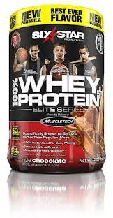 six star whey protein elite series