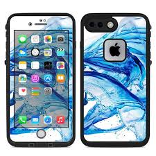 Skin Decal For Lifeproof Fre Iphone 7 Plus Or Iphone 8 Plus Case Water Splash Itsaskin Com