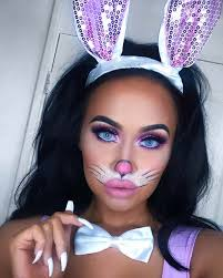 bunny face makeup pictures saubhaya