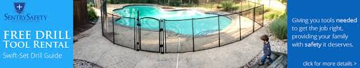 Sentry Safety Pool Fence Toddler Child Pet Safety Mesh Poly