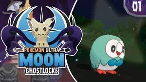AMAZING SHINY START! Pokemon Ultra Sun and Moon GhostLocke ...