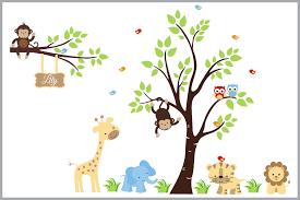 Kids Room Decorations Animal Wall Art Children S Wall Decals Nurserydecals4you