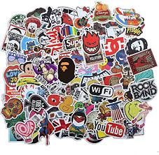 Amazon Com 100 Pcs Among Us Stickers For Laptop Game Theme Stickers Decals Waterproof Water Bottle Stickers For Motorcycle Bicycle Skateboard Luggage Decal Graffiti Patches Brand