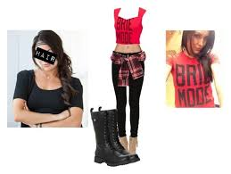 brie bella inspired outfit by