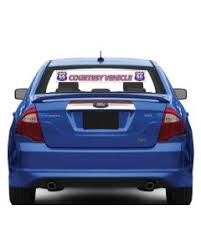 Decals Trunk Promotional Products