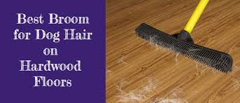 broom for dog hair on hardwood floors