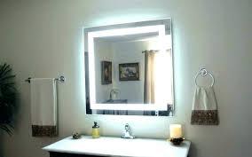 wall mirror b m led decor long diy