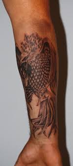 Tatuaz Fenix Wykonany Na Przedramieniu Www Time4tattoo Pl
