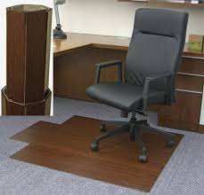 amb24011 dark cherry bamboo desk chair
