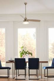 ceiling fan over the dining table