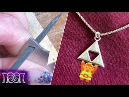 making a silver pendant at home