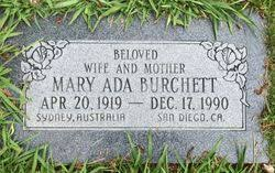 Mary Ada Powell Burchett (1919-1990) - Find A Grave Memorial
