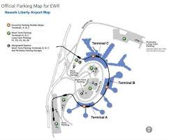 newark airport parking lowest long