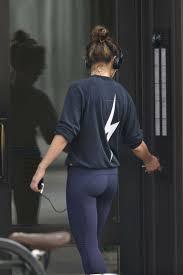 Margarita Levieva wearing headphones out in New York | GotCeleb