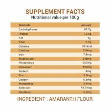 amaranth flour rajgira atta