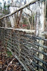 Twig Fence Garden Gates And Fencing Rustic Fence Garden Gate Design