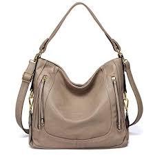 kasgo fashion pu leather hobo bag