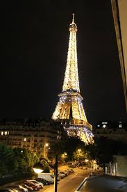 of eiffel tower from 1st floor room