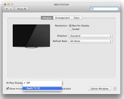 apple tv as a second display