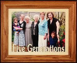 8x10 five generations landscape