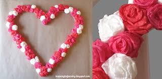 diy rose covered heart frame