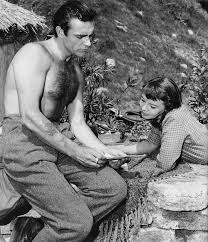 Sean Connery and Janet Munro, behind the scenes of Darby O'Gill and the  Little People (1959). | Sean connery, Disney live action movies, Scenes