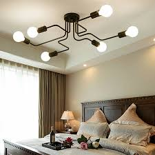 flush mount ceiling lights black