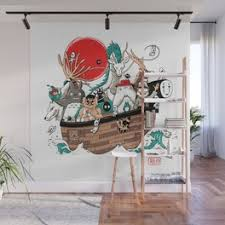 Kiki Wall Murals For Any Decor Style Society6