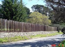 The Carmel By The Sea Watchdog Forest Theatre Fence Reconstruction Before During After Photos