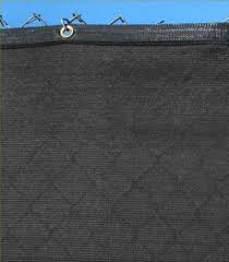 Strong And Durable Privacy Fence Screen Mesh Shade Cloth W Grommets 96 Blockage Bulk Package