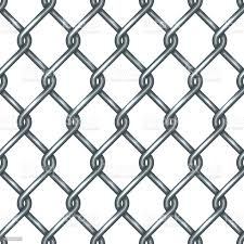 Chain Link Fence Seamless Pattern Stock Illustration Download Image Now Istock