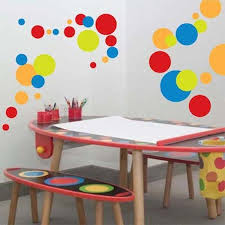 Cute Polka Dot Vinyl Wall Decals Trendy Wall Designs
