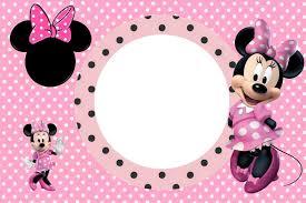 Invitaciones De Cumpleanos Minnie Mouse Para Descargar Al Celular