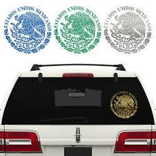 Aguila Mexico Mexican Eagle Flag Bandera Calcamonia Decal Sticker Estados Unido Chicocanvas