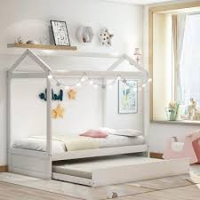 Canopy Kids Beds Headboards Kids Bedroom Furniture The Home Depot