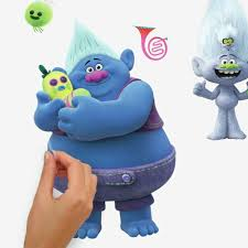 Trolls World Tour Peel And Stick Wall Decals Roommates Decor